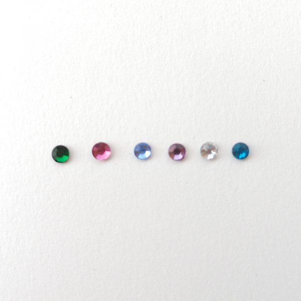 piedras colores cristal swarovski