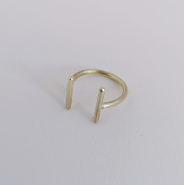anillo ajuste simple bronce