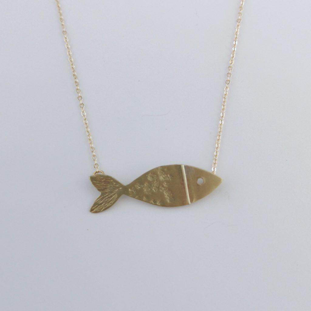 Gargantilla Colgante pez Chicharro 1