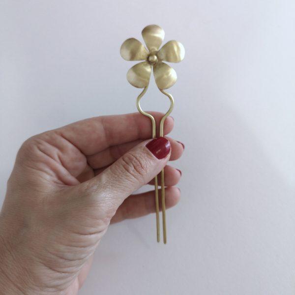 Pincho Pelo Flor Simple