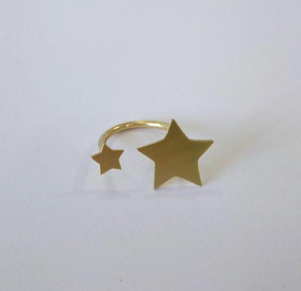 anillo ajustable estrellas 1