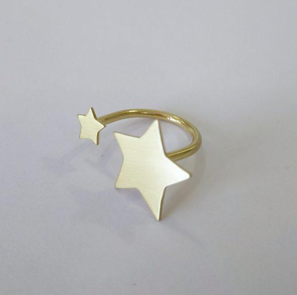 anillo ajustable estrellas 2