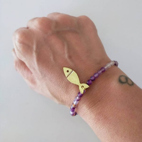 pulseras elastico piedras chicharrito 5